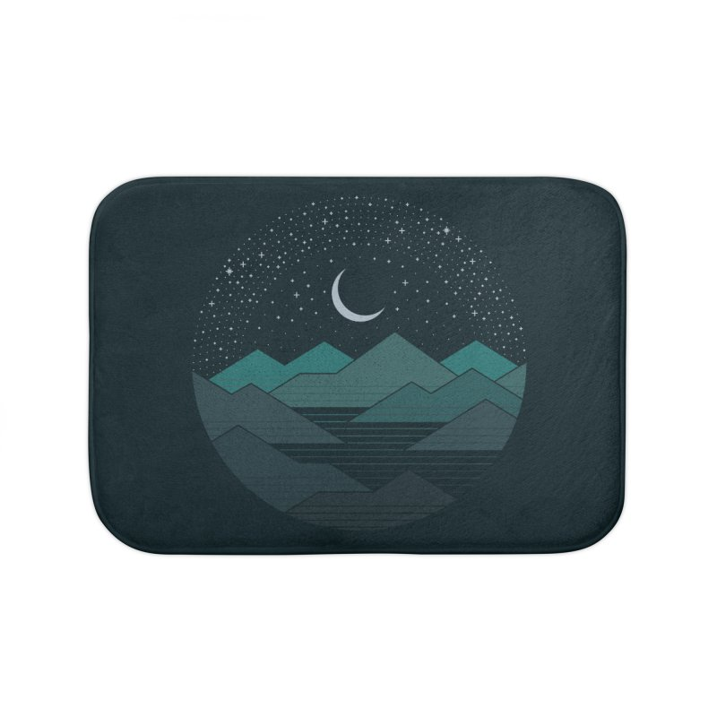Between The Mountains And The Stars Home Bath Mat by thepapercrane's shop