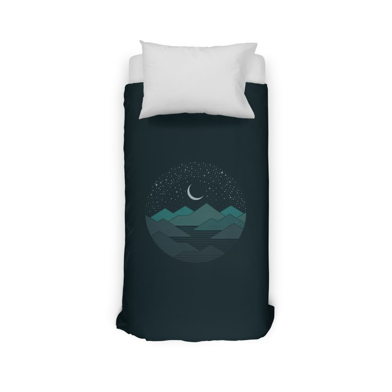 Between The Mountains And The Stars Home Duvet by thepapercrane's shop