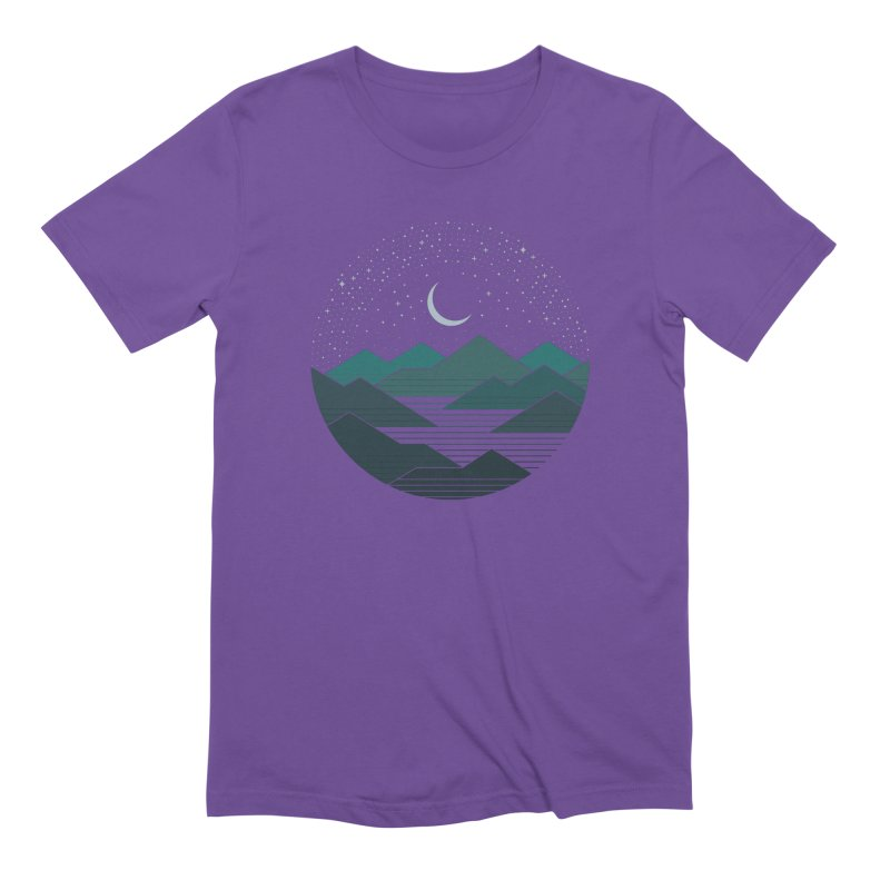 Between The Mountains And The Stars Men's Extra Soft T-Shirt by thepapercrane's shop