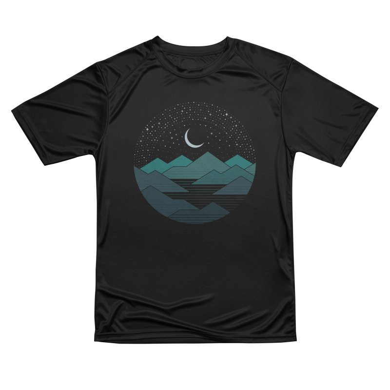 Between The Mountains And The Stars Women's T-Shirt by thepapercrane's shop
