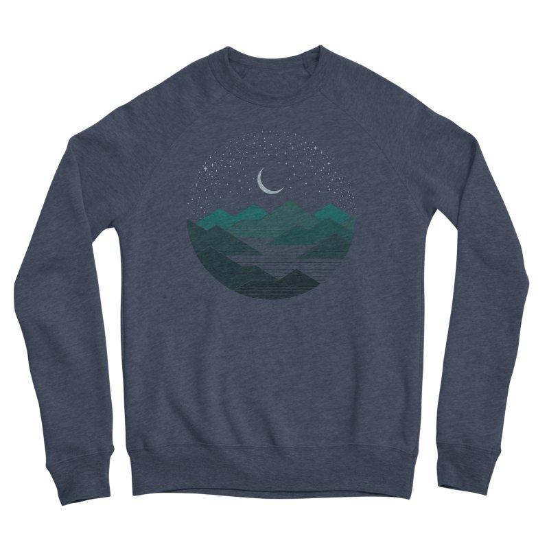 Between The Mountains And The Stars Men's Sponge Fleece Sweatshirt by thepapercrane's shop