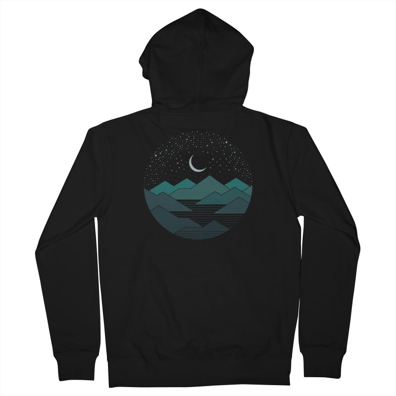 Between The Mountains And The Stars Men's Zip-Up Hoody by thepapercrane's shop