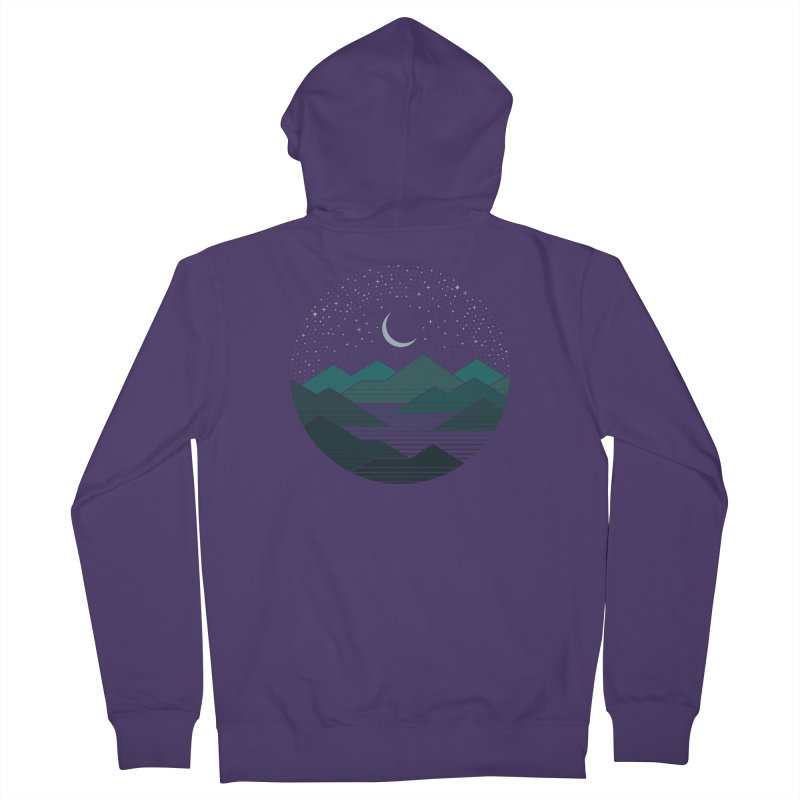 Between The Mountains And The Stars Women's Zip-Up Hoody by thepapercrane's shop