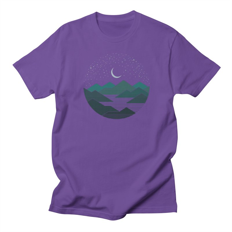 Between The Mountains And The Stars Men's T-Shirt by thepapercrane's shop