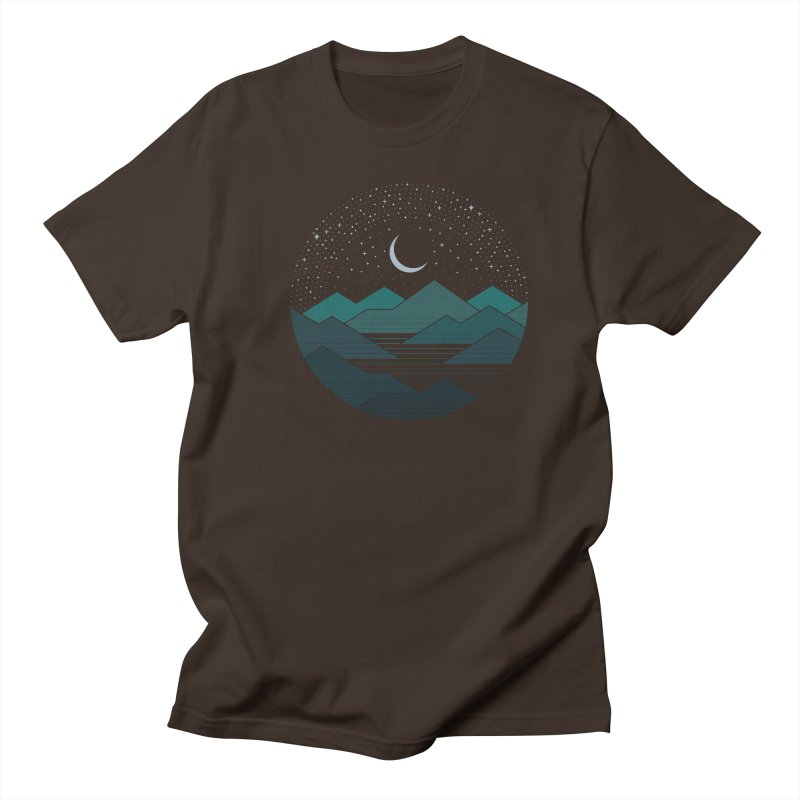 Between The Mountains And The Stars Men's Regular T-Shirt by thepapercrane's shop