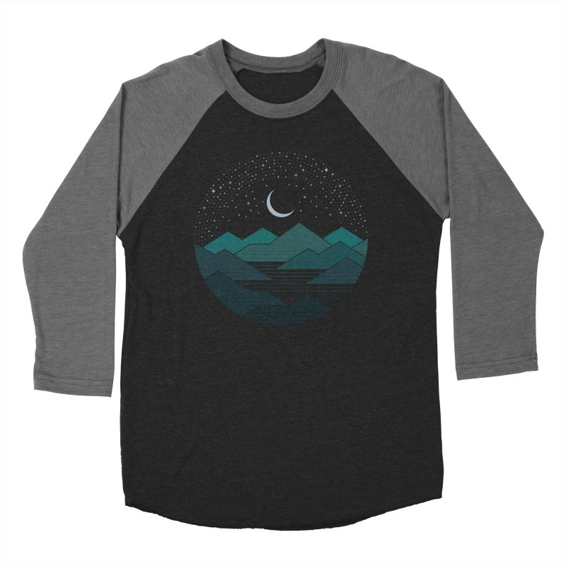 Between The Mountains And The Stars Men's Baseball Triblend Longsleeve T-Shirt by thepapercrane's shop