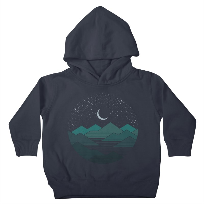 Between The Mountains And The Stars Kids Toddler Pullover Hoody by thepapercrane's shop