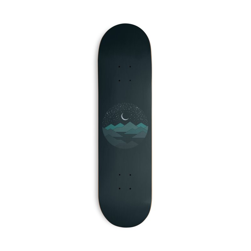 Between The Mountains And The Stars Accessories Skateboard by thepapercrane's shop