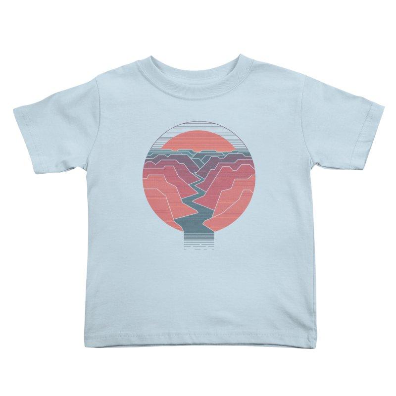 Canyon River Kids Toddler T-Shirt by thepapercrane's shop