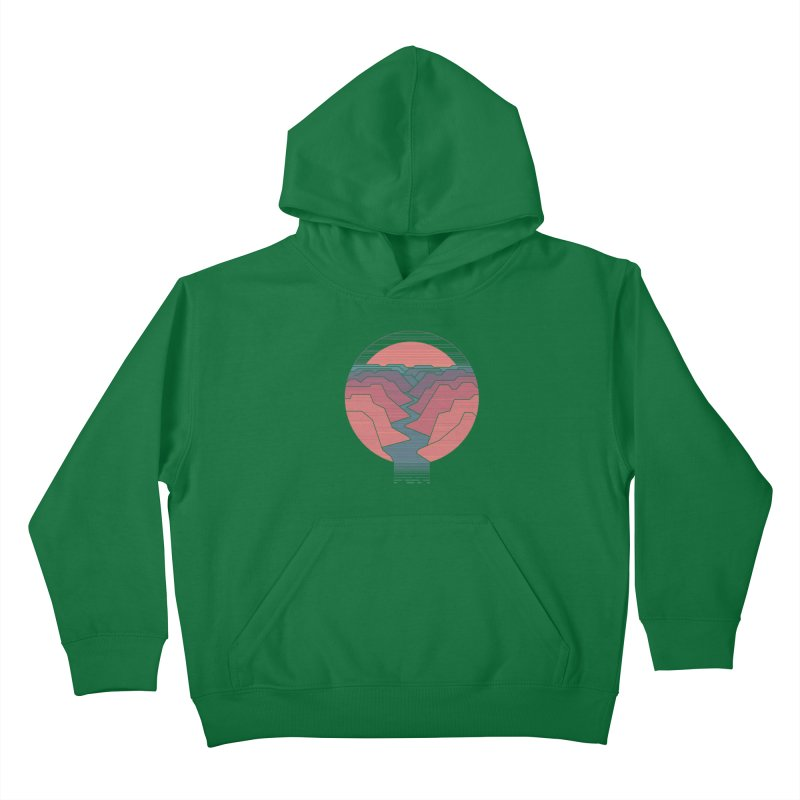 Canyon River Kids Pullover Hoody by thepapercrane's shop