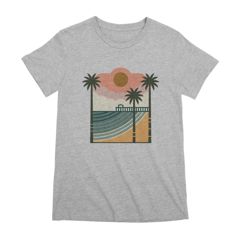 The Pier Women's Premium T-Shirt by thepapercrane's shop