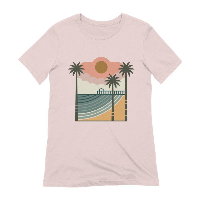 The Pier Women's T-Shirt by thepapercrane's shop