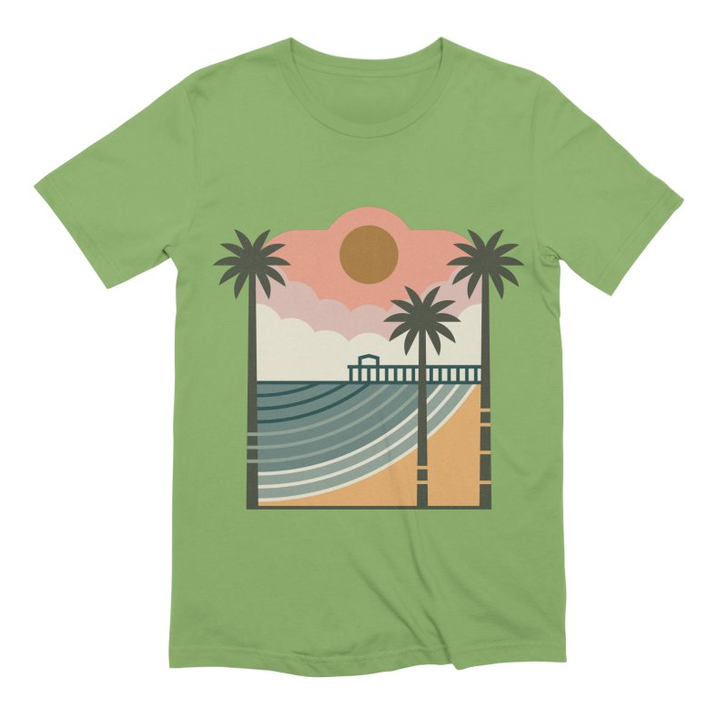 The Pier Men's T-Shirt by thepapercrane's shop