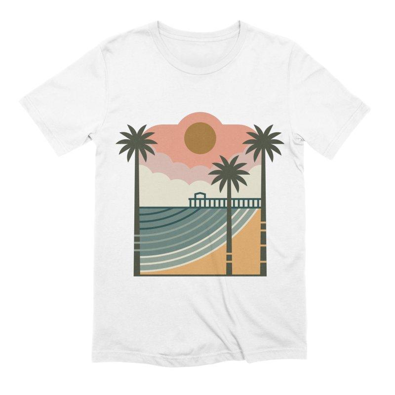 The Pier Men's Extra Soft T-Shirt by thepapercrane's shop