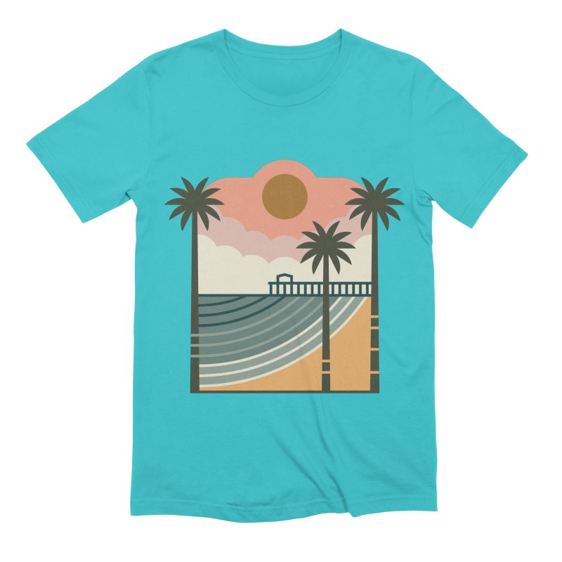 The Pier Men's Extra Soft T-Shirt by thepapercrane's shop