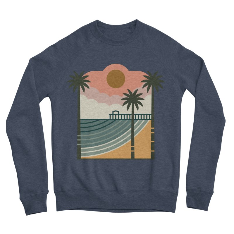 The Pier Women's Sponge Fleece Sweatshirt by thepapercrane's shop