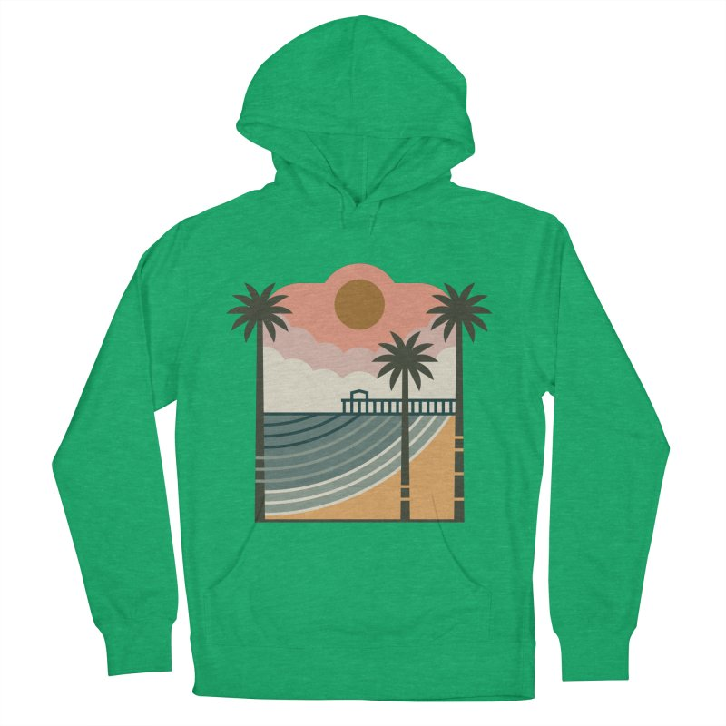 The Pier Women's Pullover Hoody by thepapercrane's shop