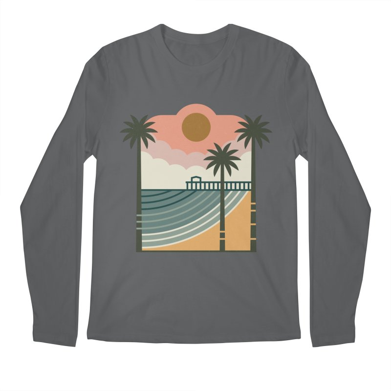 The Pier Men's Longsleeve T-Shirt by thepapercrane's shop