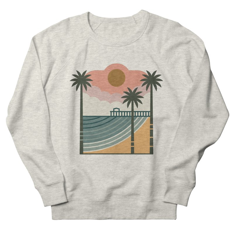 The Pier Men's Sweatshirt by thepapercrane's shop