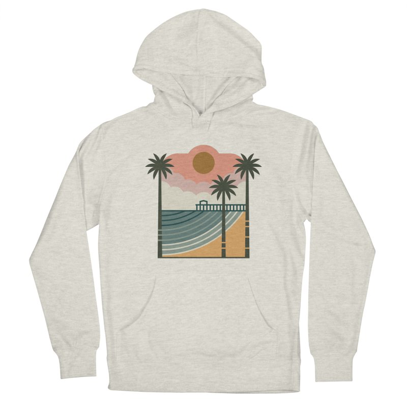 The Pier Men's Pullover Hoody by thepapercrane's shop