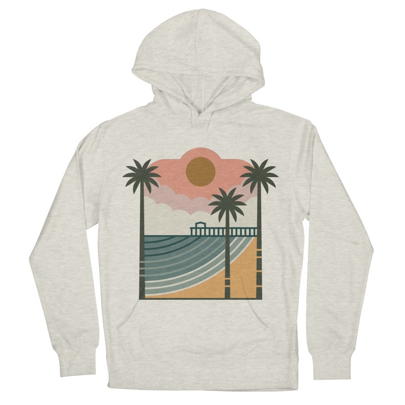 The Pier Women's French Terry Pullover Hoody by thepapercrane's shop