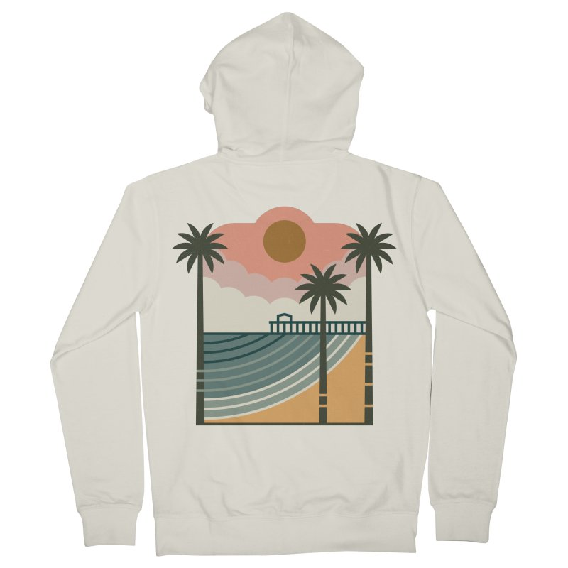 The Pier Women's French Terry Zip-Up Hoody by thepapercrane's shop