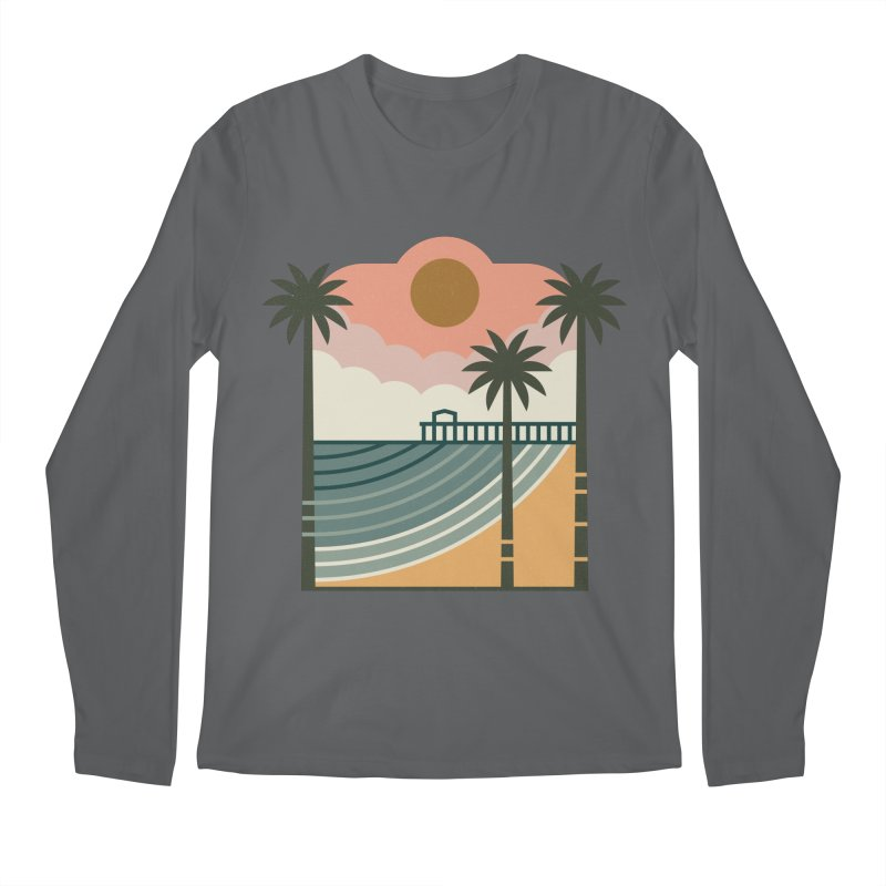The Pier Men's Regular Longsleeve T-Shirt by thepapercrane's shop