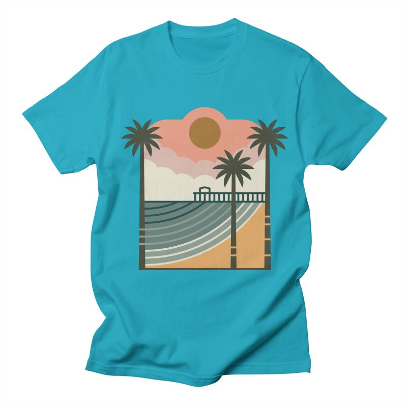 The Pier Women's Regular Unisex T-Shirt by thepapercrane's shop