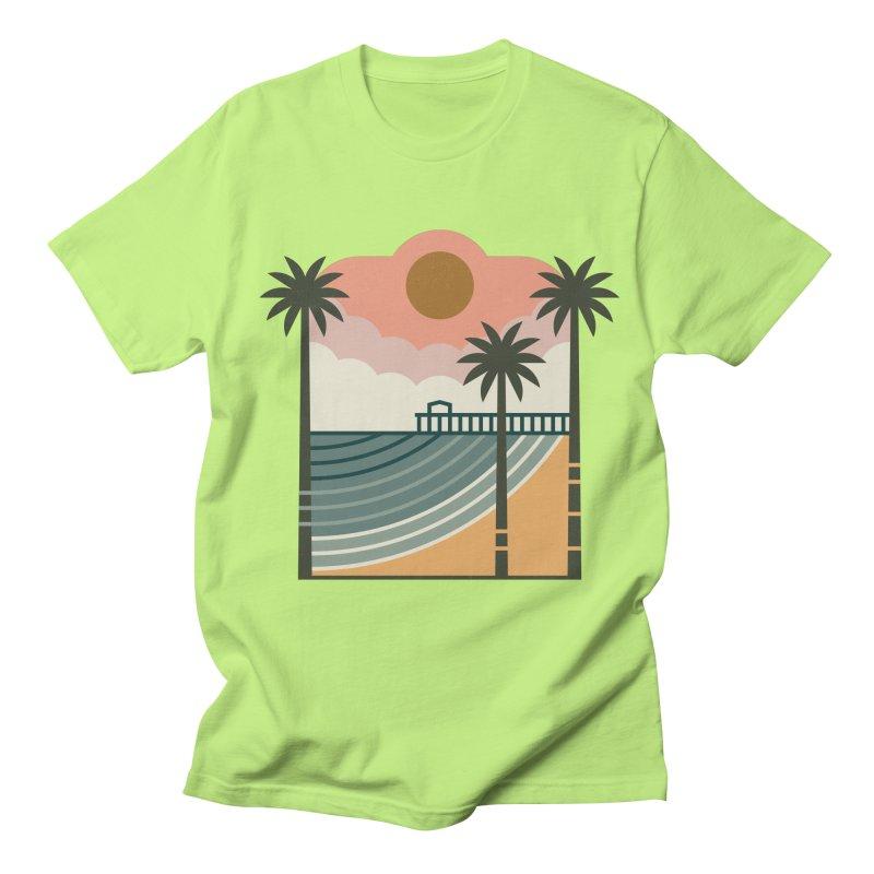 The Pier Women's Regular Unisex T-Shirt by thepapercrane's shop