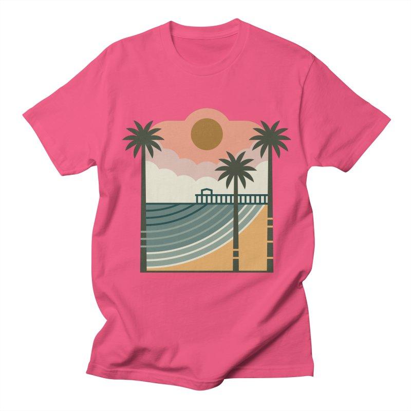 The Pier Men's T-Shirt by thepapercrane's shop