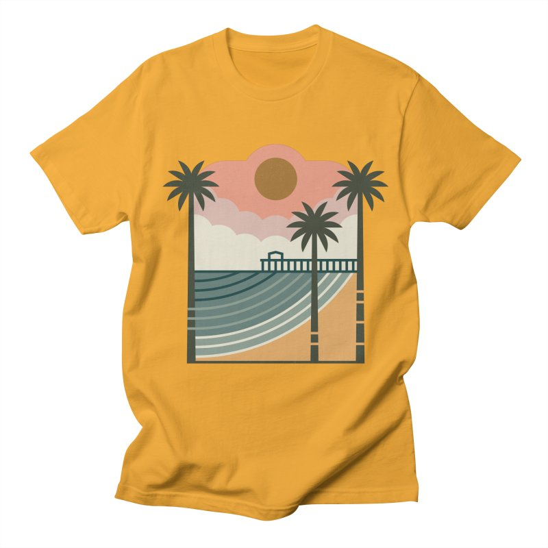 The Pier Men's Regular T-Shirt by thepapercrane's shop