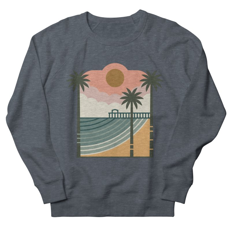 The Pier Women's French Terry Sweatshirt by thepapercrane's shop