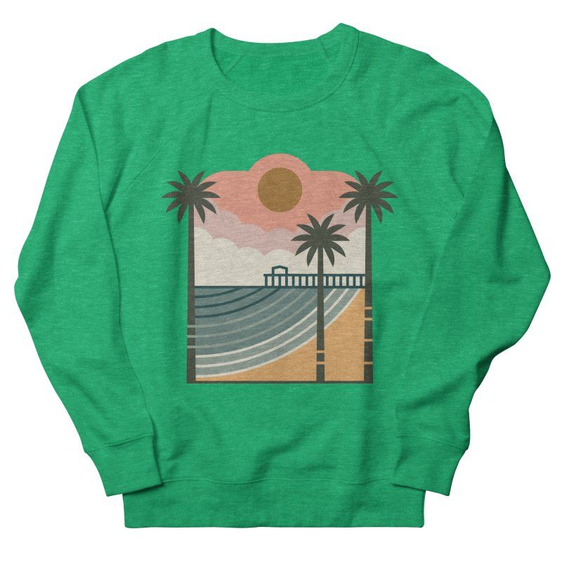 The Pier Men's French Terry Sweatshirt by thepapercrane's shop