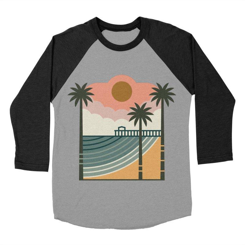 The Pier Men's Baseball Triblend Longsleeve T-Shirt by thepapercrane's shop