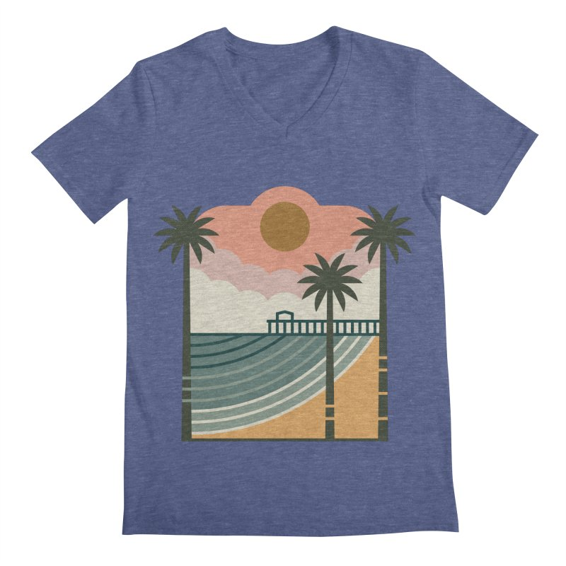 The Pier Men's Regular V-Neck by thepapercrane's shop
