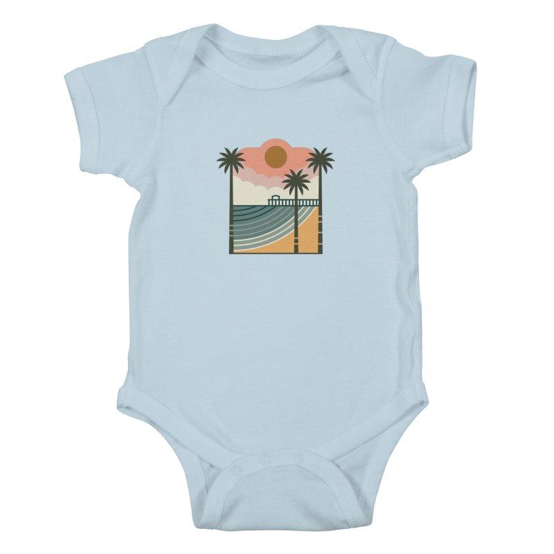 The Pier Kids Baby Bodysuit by thepapercrane's shop