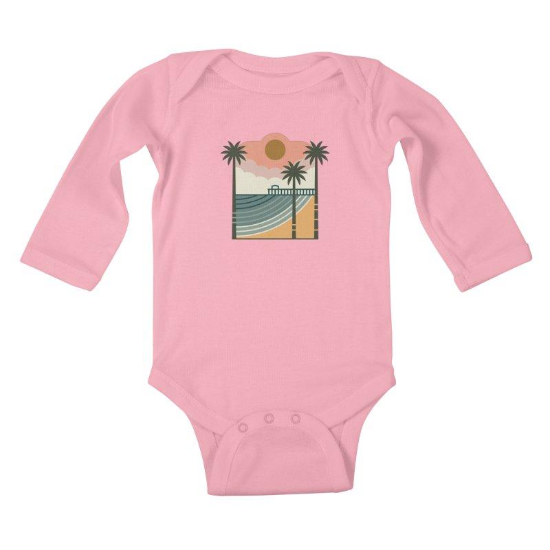 The Pier Kids Baby Longsleeve Bodysuit by thepapercrane's shop