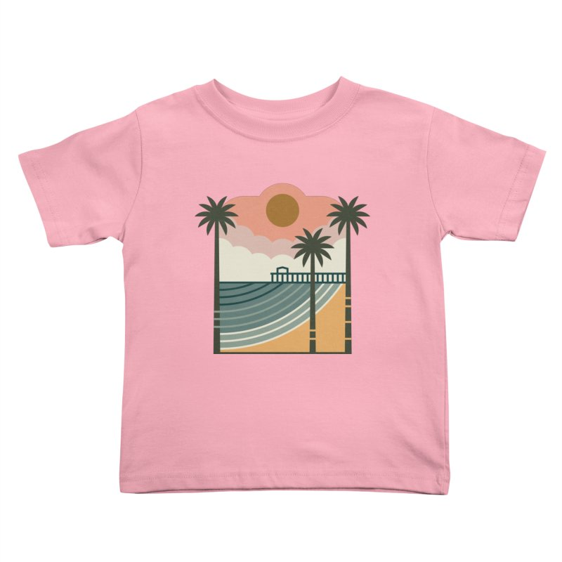 The Pier Kids Toddler T-Shirt by thepapercrane's shop