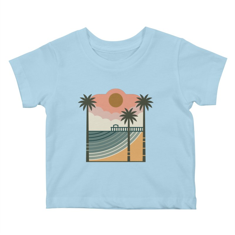 The Pier Kids Baby T-Shirt by thepapercrane's shop