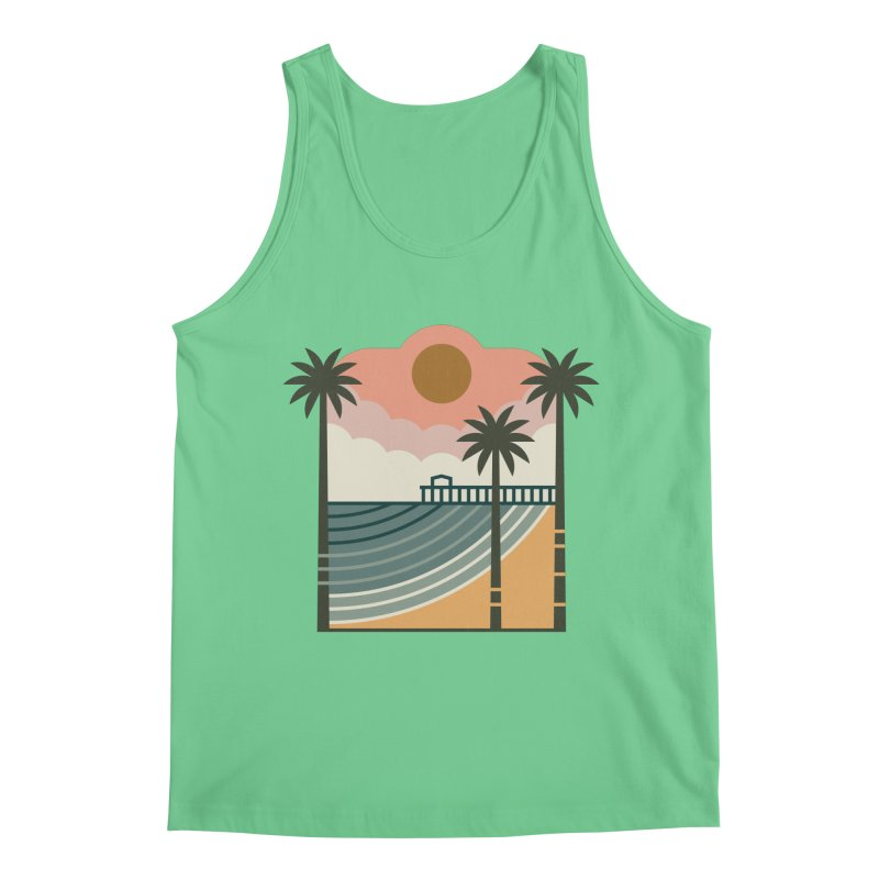 The Pier Men's Tank by thepapercrane's shop