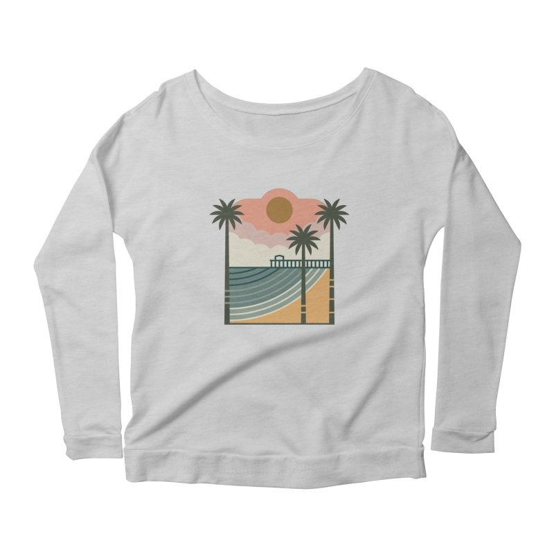 The Pier Women's Longsleeve T-Shirt by thepapercrane's shop