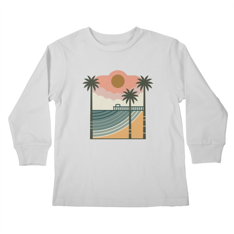 The Pier Kids Longsleeve T-Shirt by thepapercrane's shop