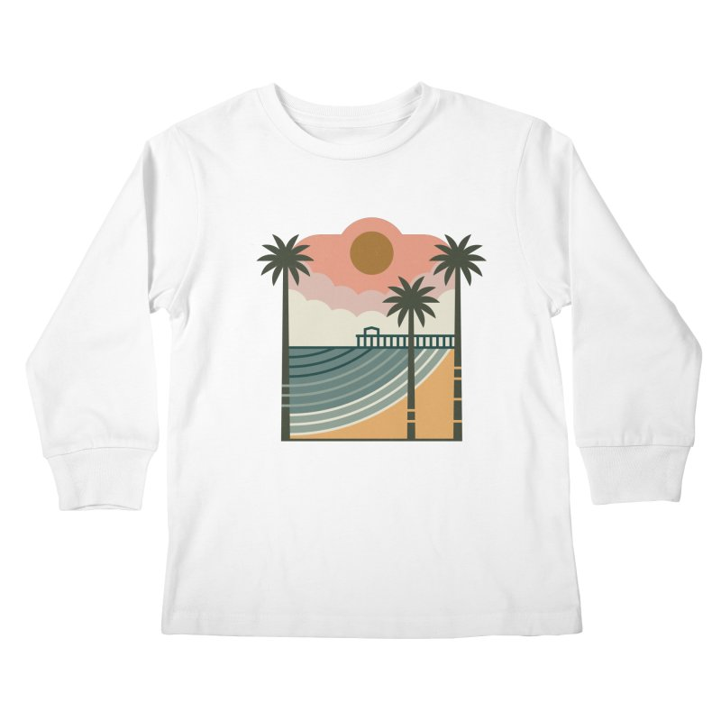 The Pier Kids Longsleeve T-Shirt by thepapercrane's shop