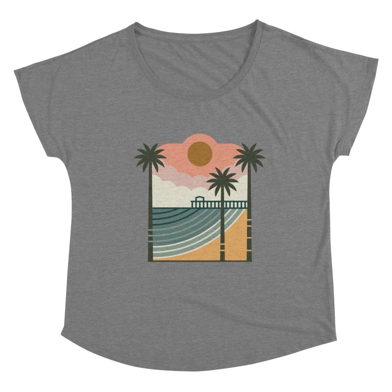 The Pier Women's Scoop Neck by thepapercrane's shop