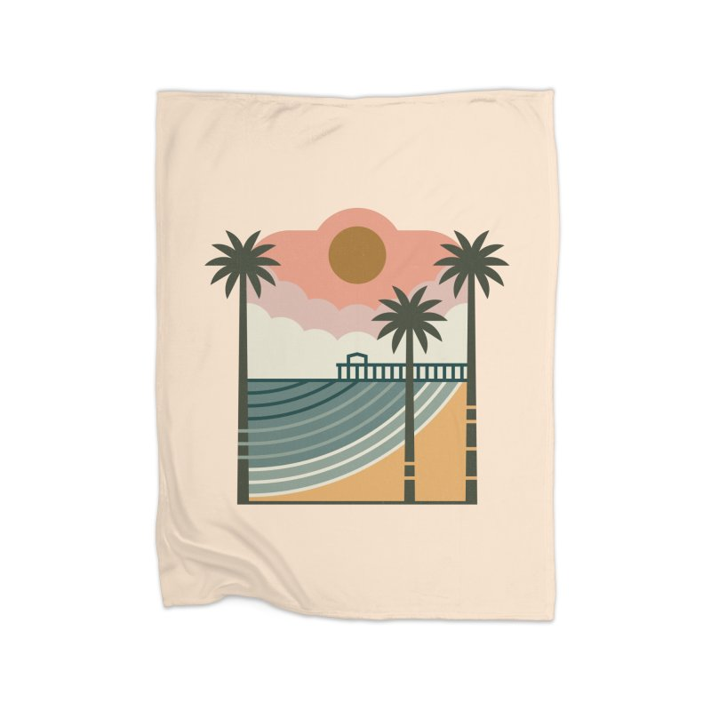 The Pier Home Blanket by thepapercrane's shop