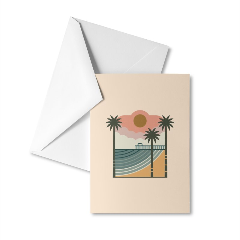 The Pier Accessories Greeting Card by thepapercrane's shop