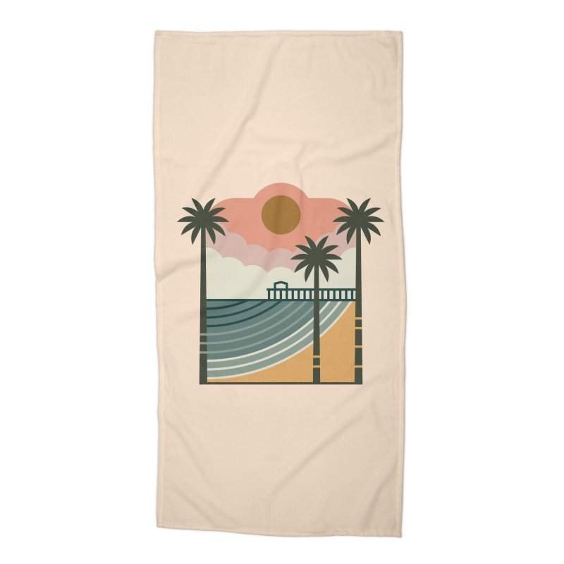 The Pier Accessories Beach Towel by thepapercrane's shop