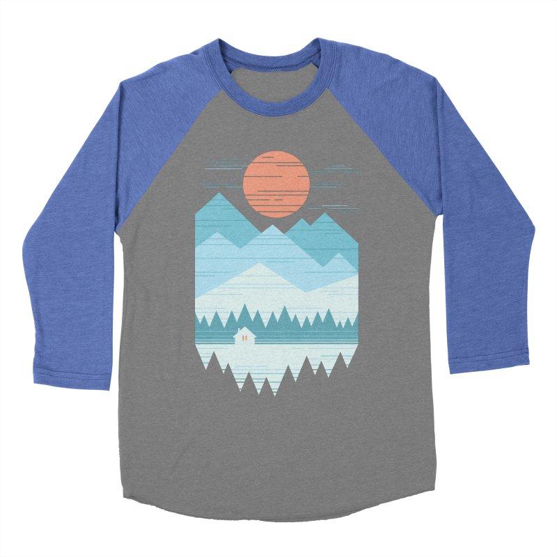 Cabin In The Snow Women's Baseball Triblend Longsleeve T-Shirt by thepapercrane's shop