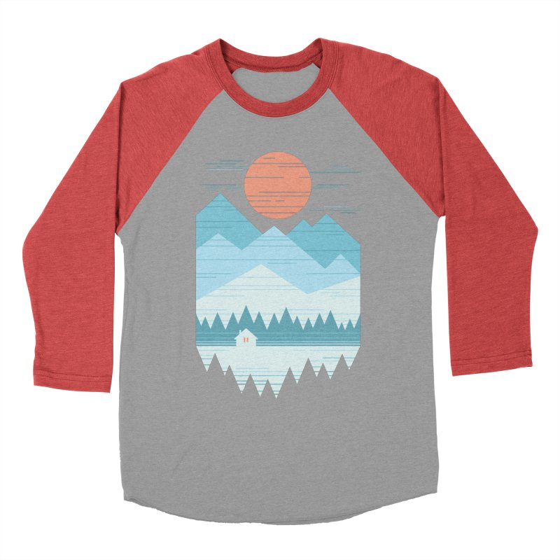 Cabin In The Snow Men's Longsleeve T-Shirt by thepapercrane's shop