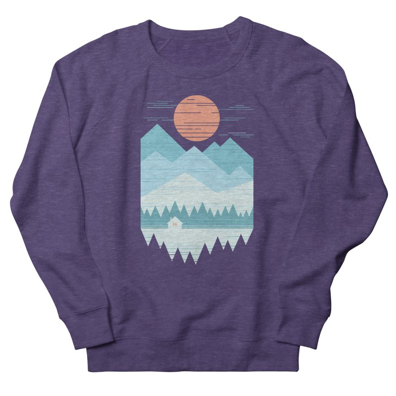 Cabin In The Snow Women's Sweatshirt by thepapercrane's shop